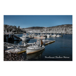 Northeast Harbor Poster