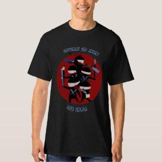 Northeast New Jersey Word Nenjas Black Shirt