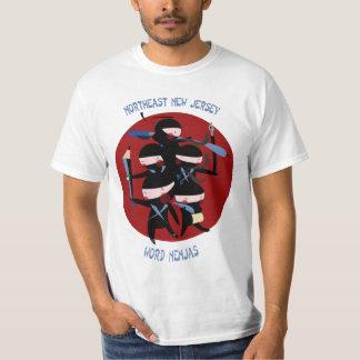 Northeast New Jersey Word Nenjas T-Shirt