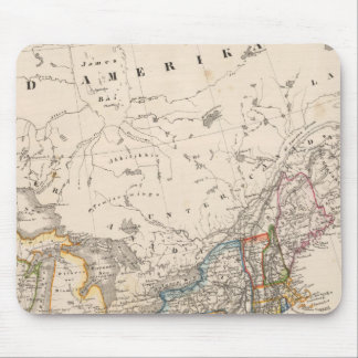 Northeast United States Mouse Pad