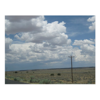Northeastern Arizona Dry Plains Post Card