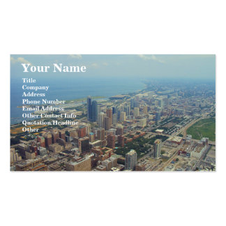 Northerly Island Park, Chicago Business Card Template