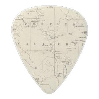 Northern California Acetal Guitar Pick