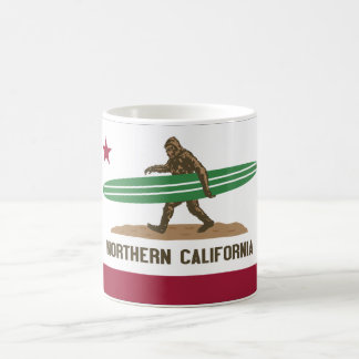 Northern California Basic White Mug