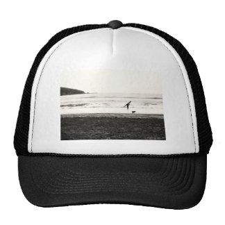 Northern California Beach Scene Trucker Hat