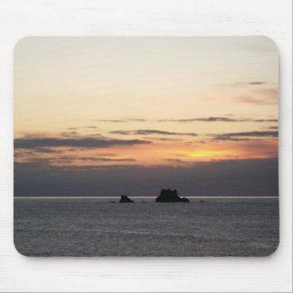 Northern California Coast Sunset Mouse Pad