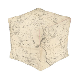 Northern California Cube Pouffe