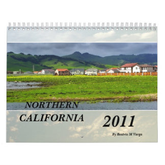 Northern California Landscape 2011 Calendar