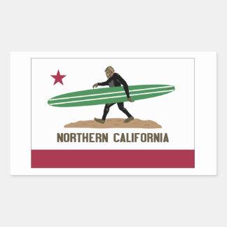 Northern California Rectangular Sticker