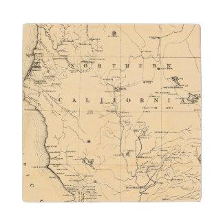 Northern California Wood Coaster