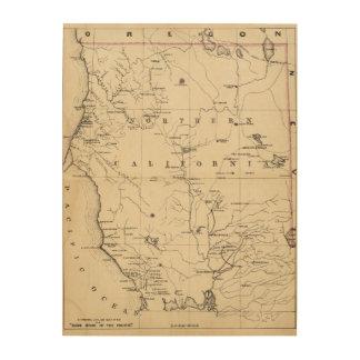 Northern California Wood Prints