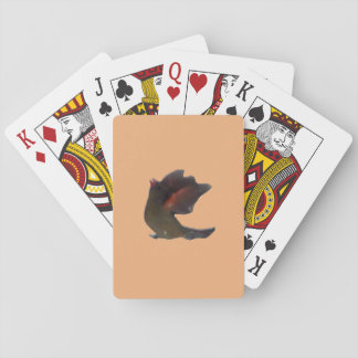 Northern Cardinal Wings Up Playing Cards