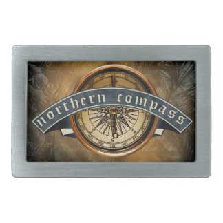 Northern Compass Belt Buckle