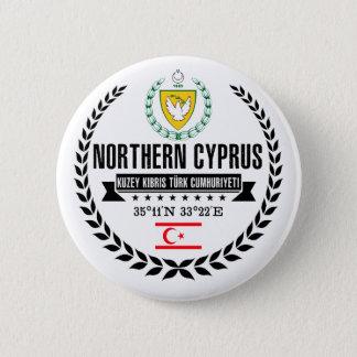 Northern Cyprus 6 Cm Round Badge
