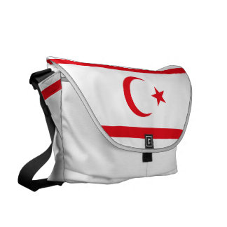 Northern Cyprus Flag Courier Bag