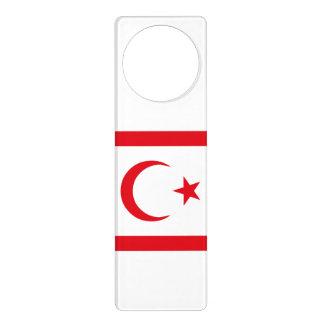Northern Cyprus Flag Door Hanger