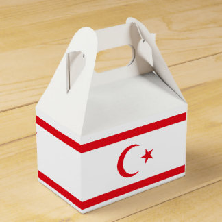Northern Cyprus Flag Favour Box