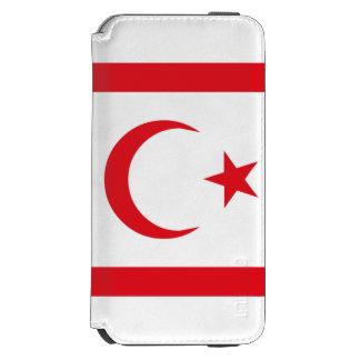 Northern Cyprus Flag Incipio Watson™ iPhone 6 Wallet Case