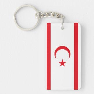 Northern Cyprus Flag Key Ring