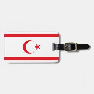 Northern Cyprus Flag Luggage Tag