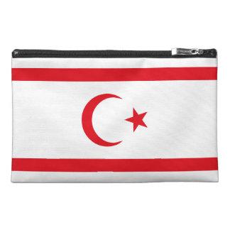 Northern Cyprus Flag Travel Accessory Bag