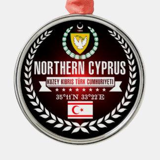 Northern Cyprus Metal Ornament