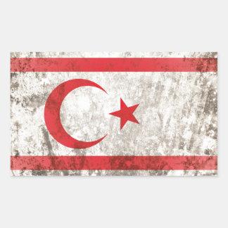 Northern Cyprus Rectangular Sticker