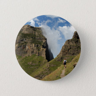 Northern Drakensberg South Africa 6 Cm Round Badge