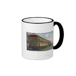 Northern Electric Train View Coffee Mugs
