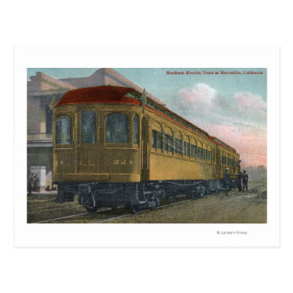 Northern Electric Train View Postcard
