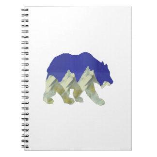 Northern Escape Spiral Notebook