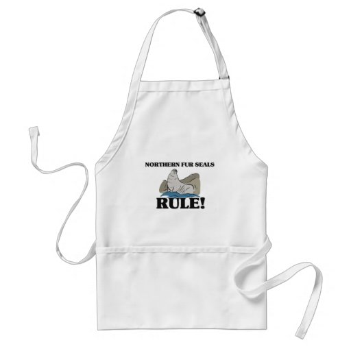 NORTHERN FUR SEALS Rule! Aprons