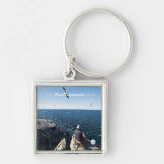 Northern Gannets Key Ring