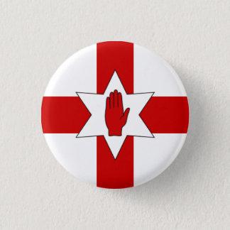 Northern Ireland Badge - Star & Hand on Cross