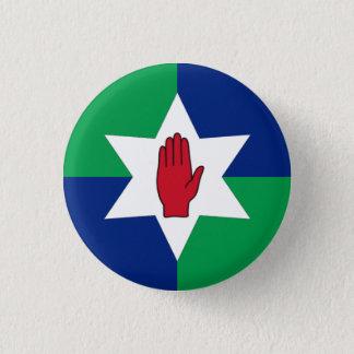 Northern Ireland Badge - Star on Green & Blue
