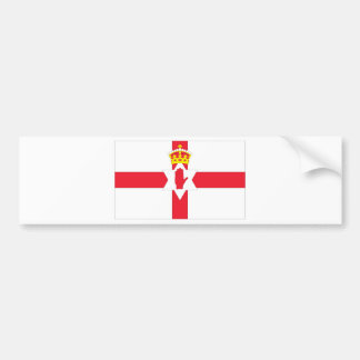 Northern Ireland Flag Bumper Sticker