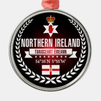 Northern Ireland Metal Ornament