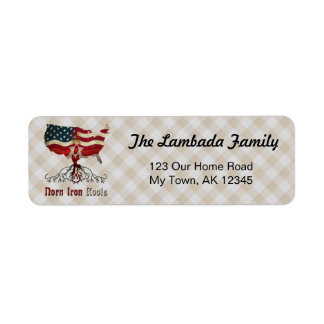 Northern Irish American Roots Address Labels