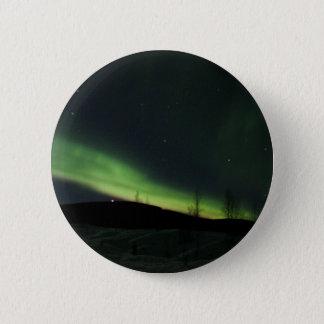 Northern Lights 6 Cm Round Badge