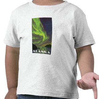 Northern Lights and Orcas - Latouche, Alaska T-shirt