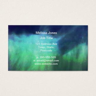 Northern Lights / Aurora Borealis Business Card