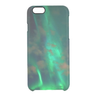 Northern Lights, Aurora Borealis Clear iPhone 6/6S Case
