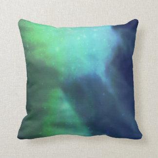 Northern Lights / Aurora Borealis Cushion
