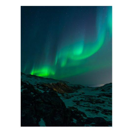 Northern Lights Aurora Borealis Custom Personalise Postcard