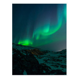 Northern Lights Aurora Borealis Custom Personalize Postcard