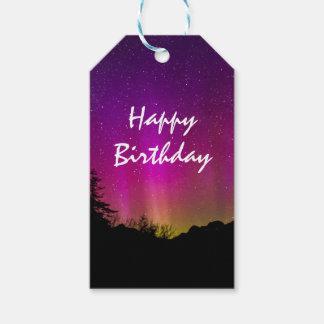 Northern Lights Aurora Borealis Happy Birthday