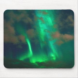 Northern Lights, Aurora Borealis Mouse Pad