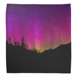 Northern Lights Aurora Borealis Starry Night Sky Bandanas