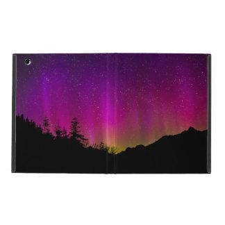 Northern Lights Aurora Borealis Starry Night Sky iPad Folio Cover