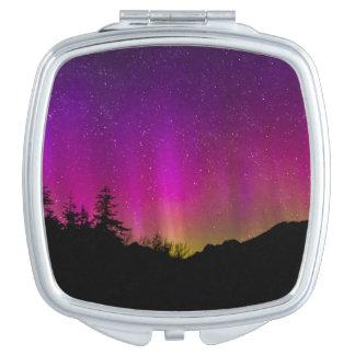 Northern Lights Aurora Borealis Starry Night Sky Travel Mirrors